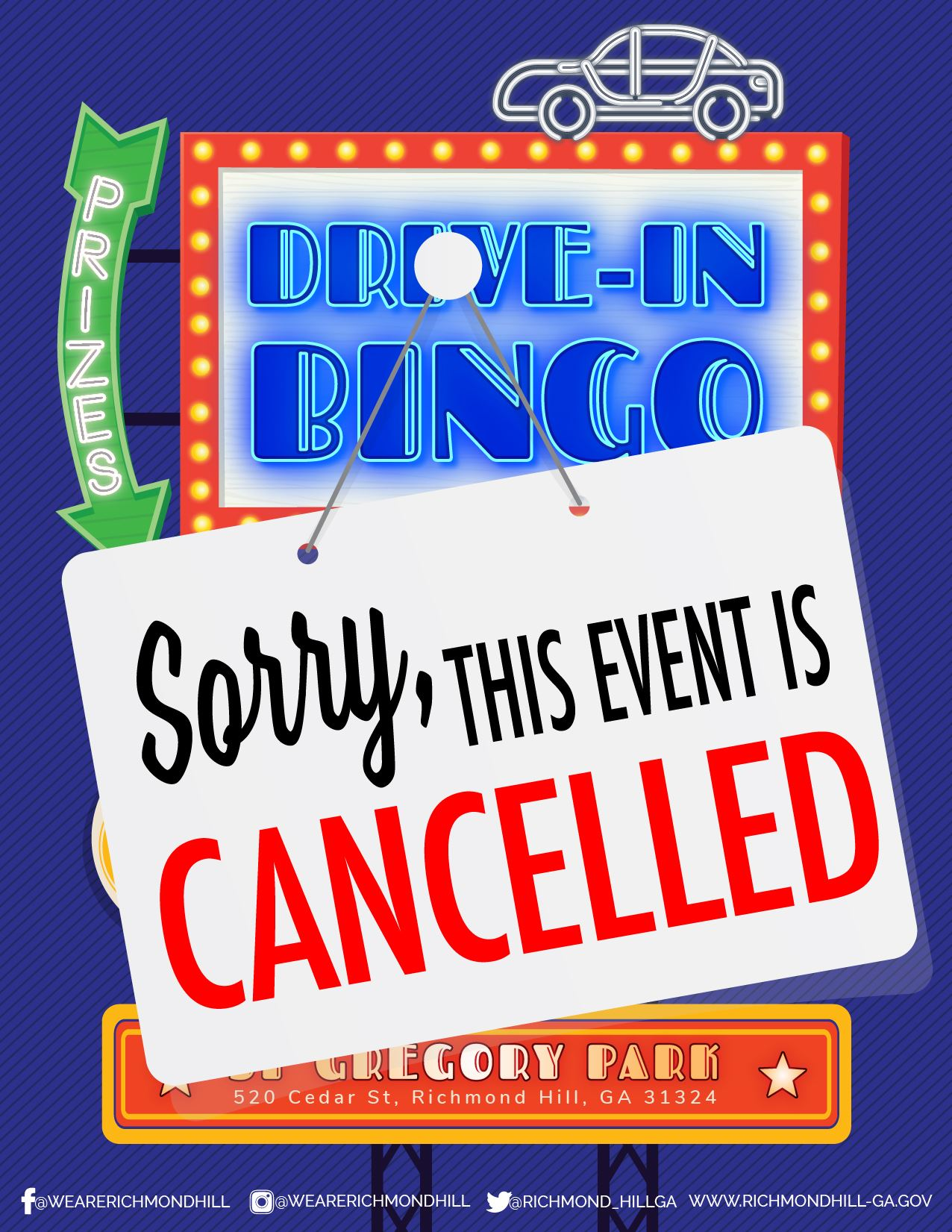Neon Bingo Cancelled Flyer-01